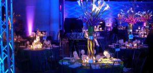 A beautiful wedding centerpiece designed by EBE Talent - Philadelphia's best wedding planners.