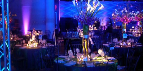 A beautiful wedding centerpiece designed by EBE Talent - Philadelphia's best wedding planners.