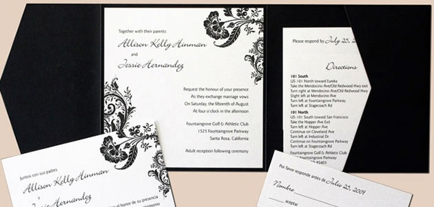 DIY - Wedding Invitations