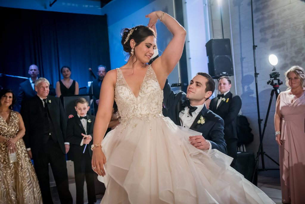 865e50a33 They took dance lessons with Bianca Gatto   Tiffani Giosa of Chez Dance  Studio leading up to the wedding. After their formalities